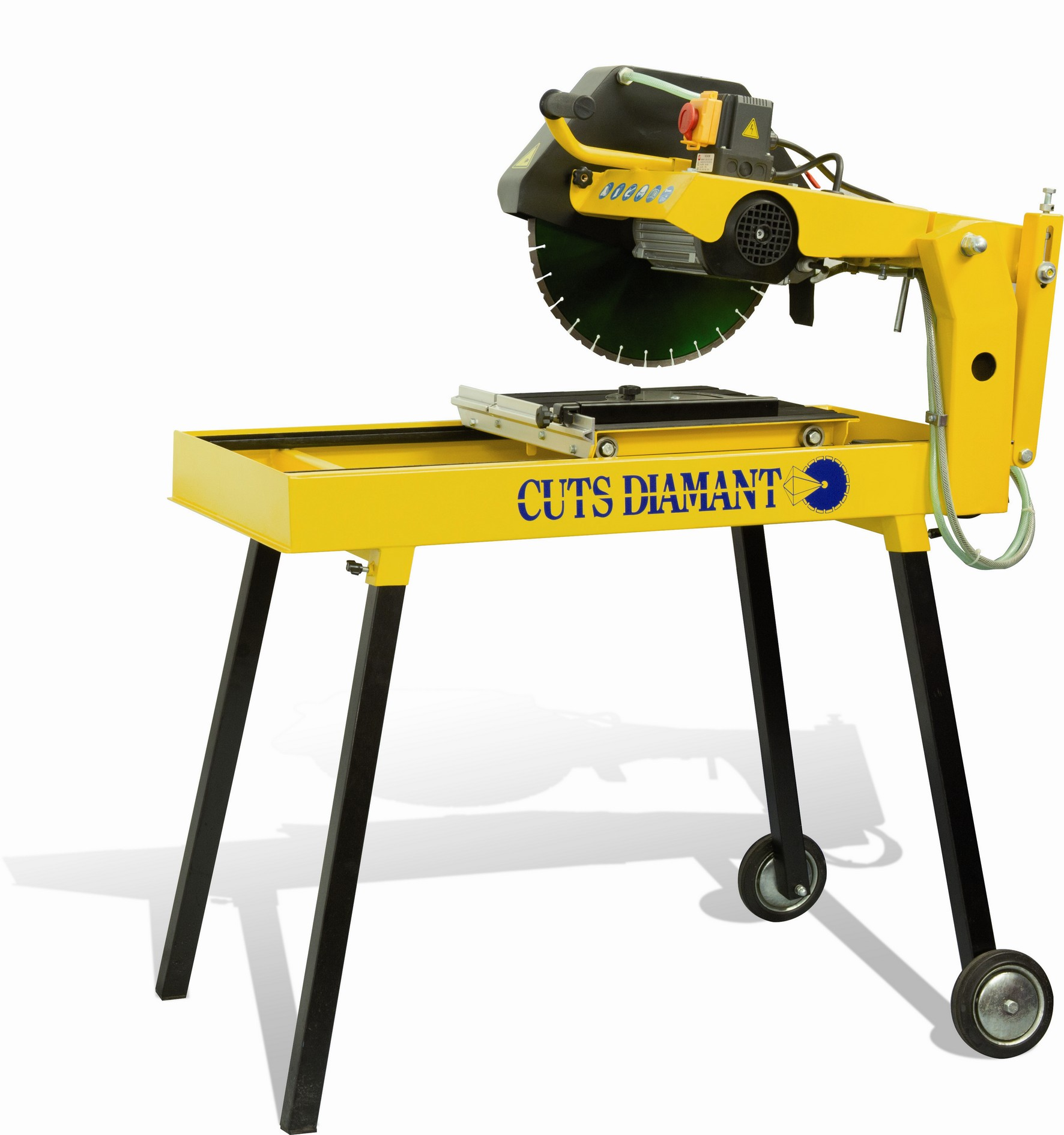 Table saw for diamond blade up to 400mm