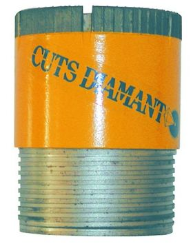 Diamond set core bit - dry use