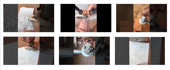 Çekirdekli elektrolitik elmas ile elmas fincan tekerlek CP 326.