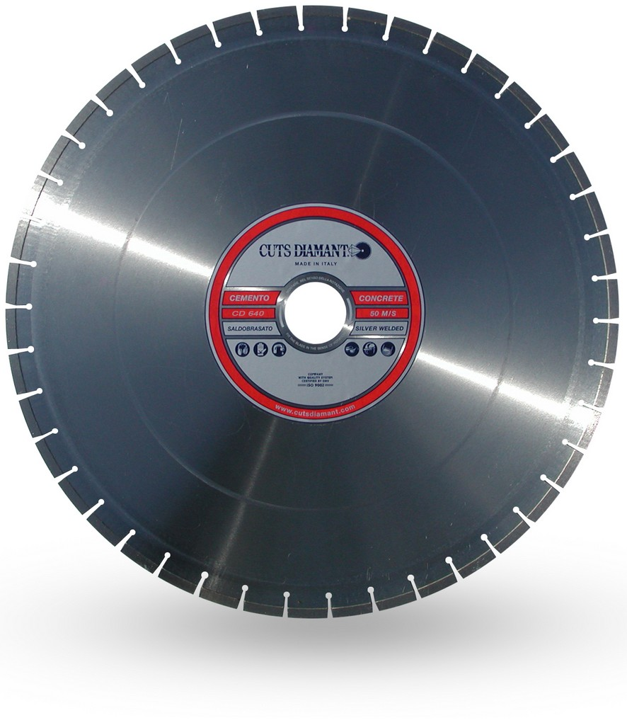 Diamond blades for cutting prefabricated concrete