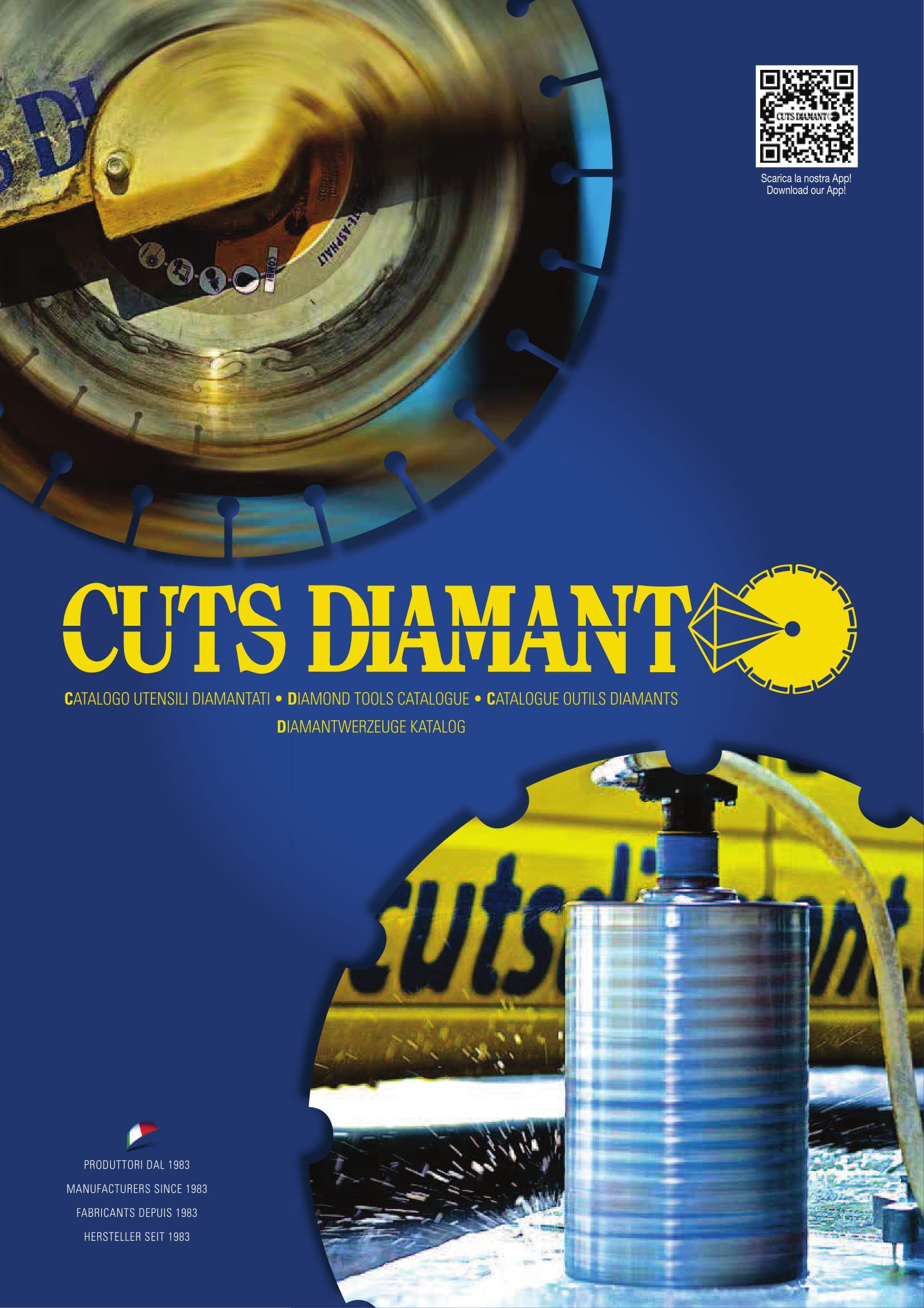 Novo catálogo de ferramentas diamantadas