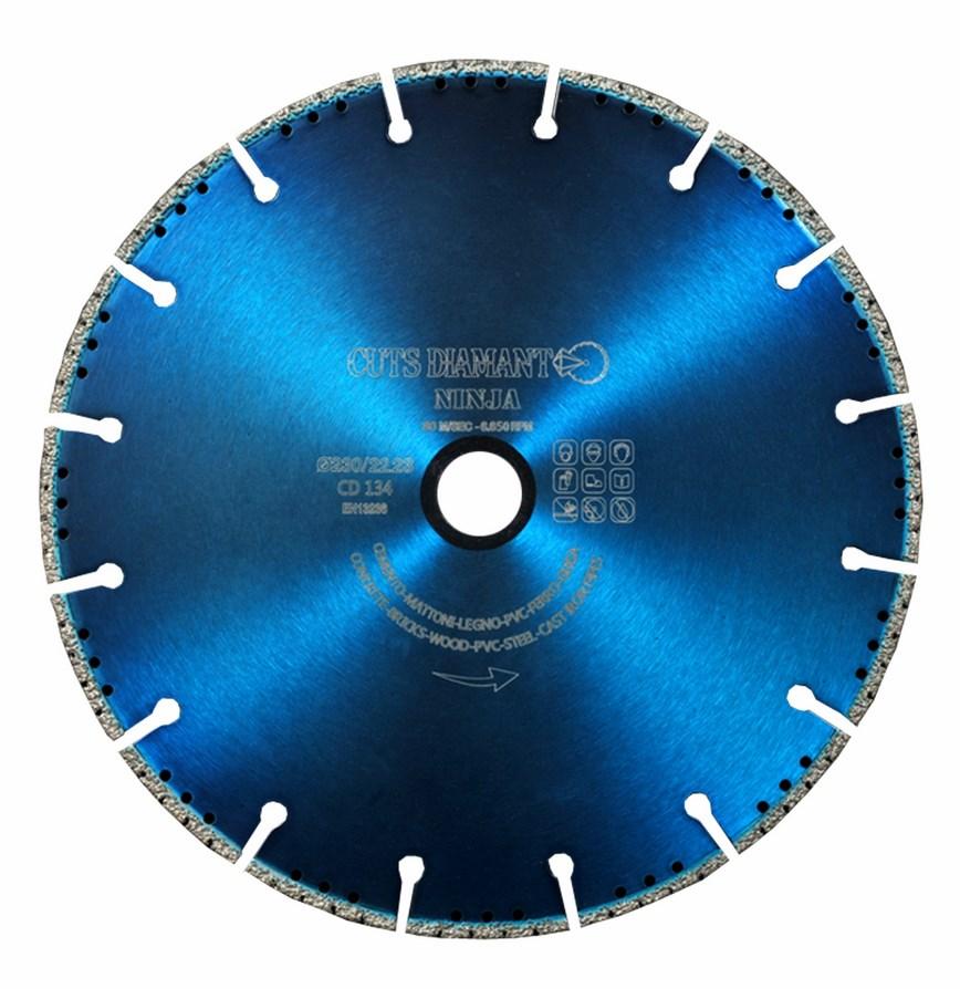 Disco de diamante com ampla gama de aplicações