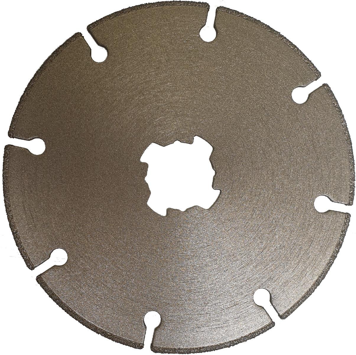 Disco diamantato per il taglio di acciaio con attacco X-Lock